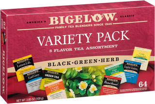 Fine Tea & Herbal Tea Buy 5 Get 1 Free - total of 384 teabags