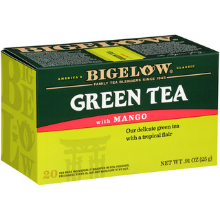 Green Tea with Mango - Case of 6 boxes - total of 120 teabags