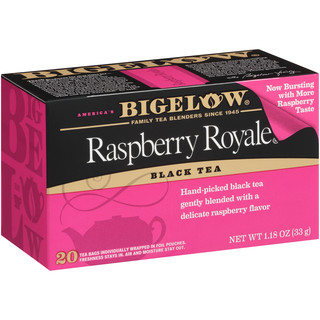 Raspberry Royale Tea - Case of 6 boxes- total of 120 teabags