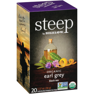 earl grey black tea - case of 6 boxes - total of 120 teabags