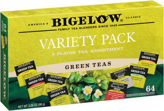 Green Tea Variety Gift Box Buy 5 Get 1 Free - total of 384 teabags