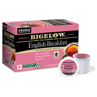 English Breakfast K-Cups - Case of 6 boxes - total of 72 kcups