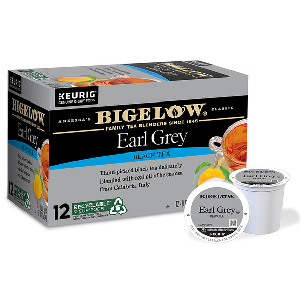 Earl Grey K-Cups - Case of 6 boxes - total of 72 kcups