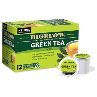 Green Tea K-Cups - Case of 6 boxes - total of 72 kcups