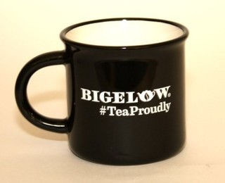 Black #TeaProudly Mug - 15 oz.