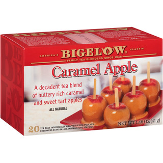 Caramel Apple Tea - Case of 6 boxes- total of 120 tea bags