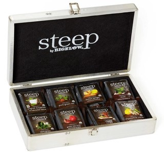 steep by Bigelow Aviator Tea Chest - total of 64 tea bags