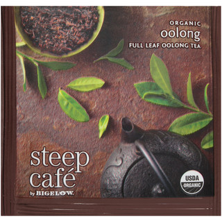 steep Café Organic Oolong - Box of 50 pyramid tea bags