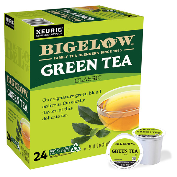 Green Tea K-Cups - Case of 4 boxes - total of 96 kcups