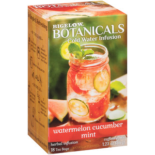 Watermelon Cucumber Mint Cold Water Infusion Caffeine Free Herbal Tea 108 TB (case of 6 boxes)