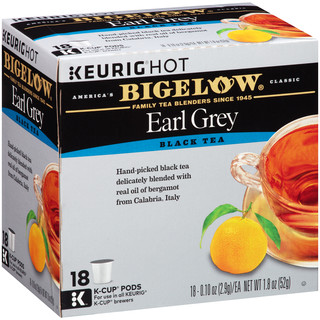 Earl Grey K-Cup® pods - Case of 4 boxes - total of 72 K-Cup® pods