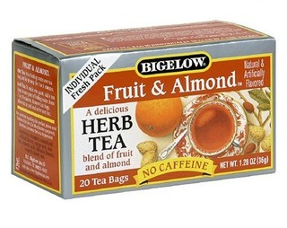 Fruit and Almond Herbal Tea - Case of 6 boxes - total of 120 tea bags
