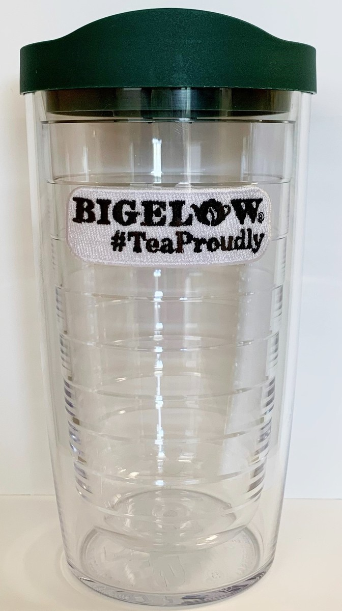 Bigelow #TeaProudly Tervis Tumbler with Green Lid